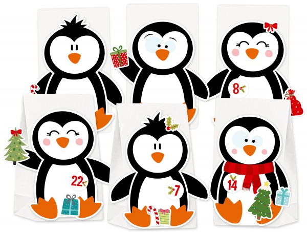 Adventskalender Pinguin