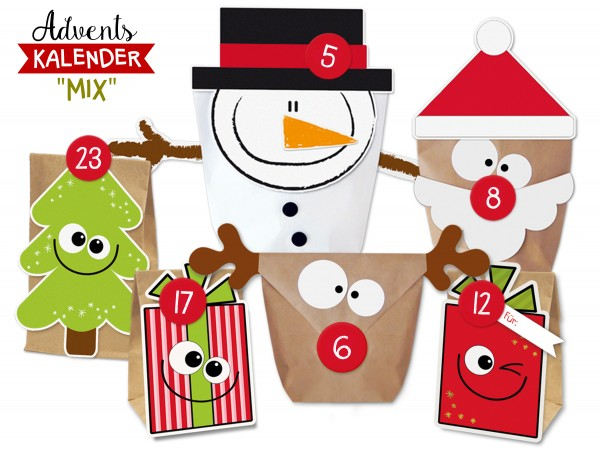 DIY Adventskalender Set Mix